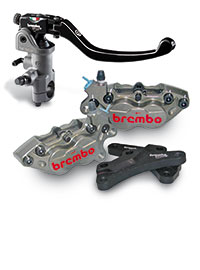 Icona Brembo Racing Maxi Scoorter