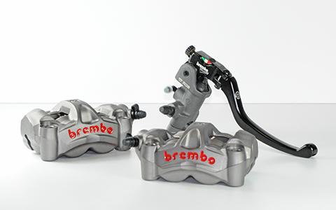 Pinza M50 e pompa 17 RCS da BREMBO