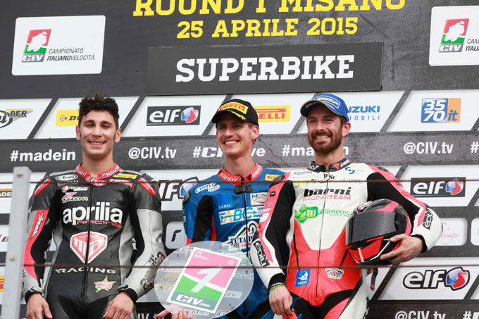 Aprile 2015, Misano Adriatico, Campionato Italiano Velocità, Round 1 e 2