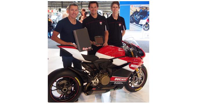 Troy Bayliss e Sprint Filter: due miti del motociclismo insieme per vincere!