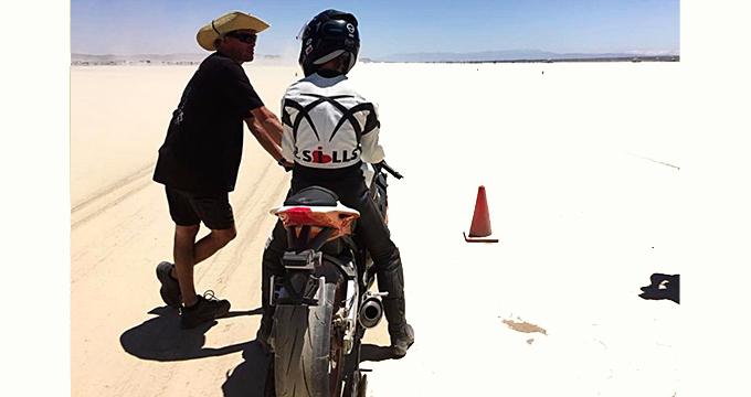 Il deserto del Mojave non ferma SprintFilter!