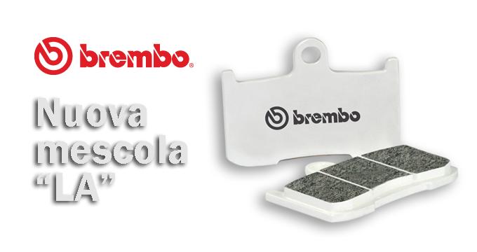 Finalmente disponibile la nuova pastiglia Brembo in mescola LA