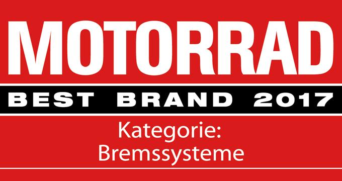 """Brembo premiato """"Best Brand 2017″ dalla rivista mensile Motorrad"""