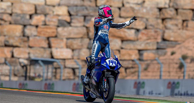 Lucas Mahias vince ad Aragon e vola in testa alla classifica del mondiale Supersport
