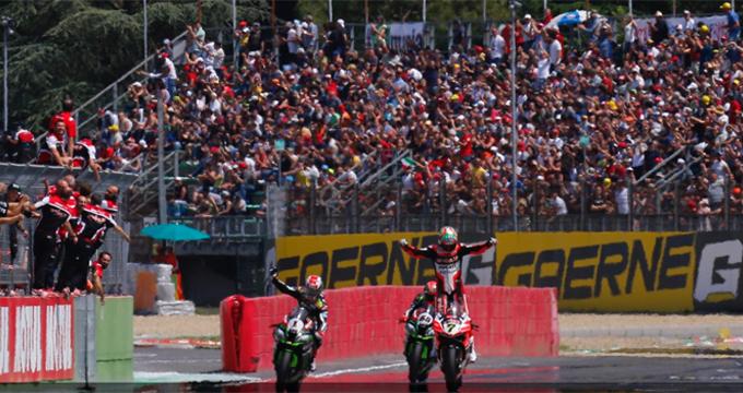 Mondiale Superbike: ottimi risultati per chi si affida a Brembo!