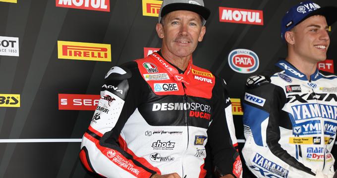 Per la sua Ducati Troy Bayliss ha scelto i filtri aria Sprint Filter!
