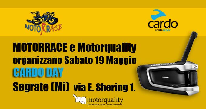 CARDO DAY: Motorrace vi aspetta per presentare i nuovi prodotti!