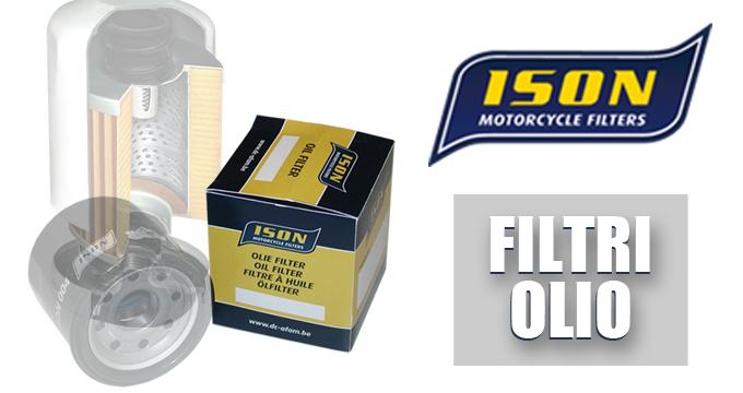 FILTRI OLIO ISON: elevate performance di flussaggio, filtrazione e durata.