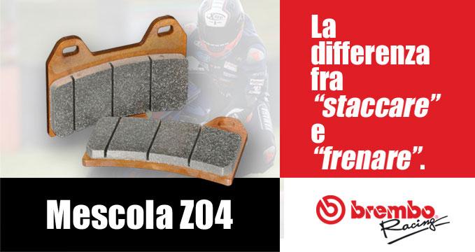 """Brembo Mescola Z04: una vera """"Factory Pad"""""""