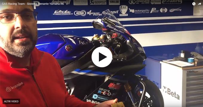 Gas Racing Team – Il sistema frenante della Yamaha R6 raccontata dal nostro Assistente di Pista.