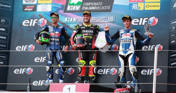 Weekend entusiasmante ad Imola per il Campionato Italiano Velocità!