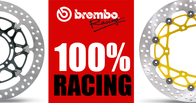 "Dischi Brembo Racing, la differenza tra ""staccare"" e frenare"