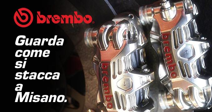 La MotoGP aMisano raccontata da Brembo.