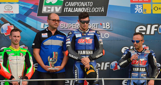 Il GAS RACING TEAM centra la prima vittoria stagionale.
