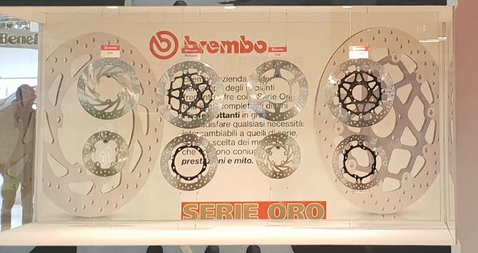 Dischi Brembo Serie Oro: prestazione e mito!