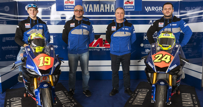 Yamaha Motors rinnova il supporto al GAS Racing Team nel Campionato Italiano Velocità categoria SuperSport 600.