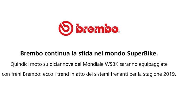 Brembo continua la sfida nel mondo Superbike!