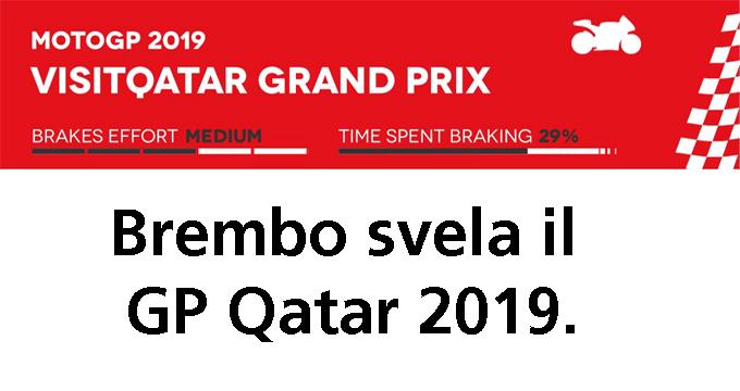 Brembo svela il GP Qatar 2019 della MotoGP!