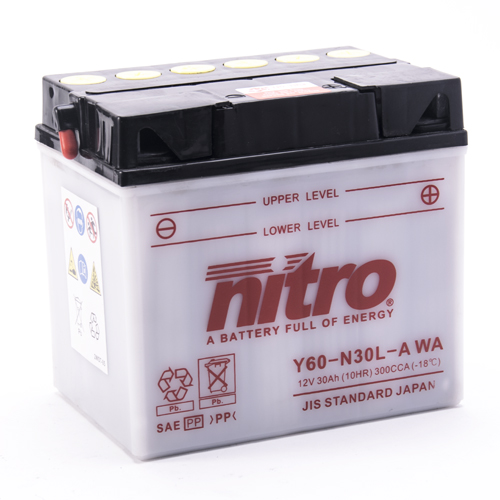 NITRO BATTERIE MODELLO: N60-N30L-A WA