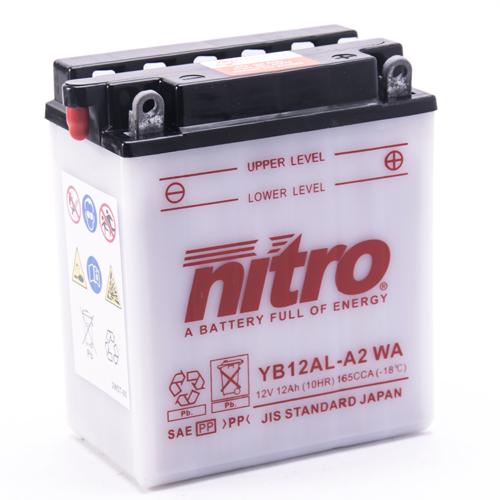 NITRO BATTERIE MODELLO: NB12AL-A2 WA