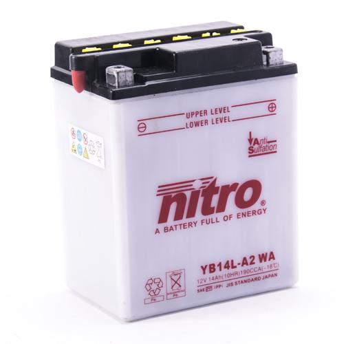 NITRO BATTERIE MODELLO: NB14L-A2 WA