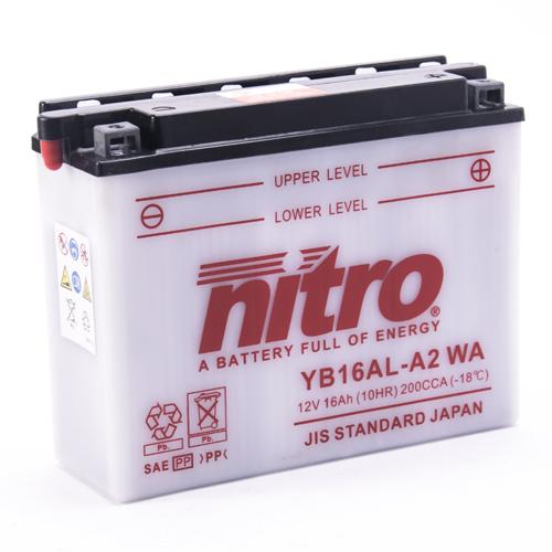 NITRO BATTERIE MODELLO: NB16AL-A2 WA