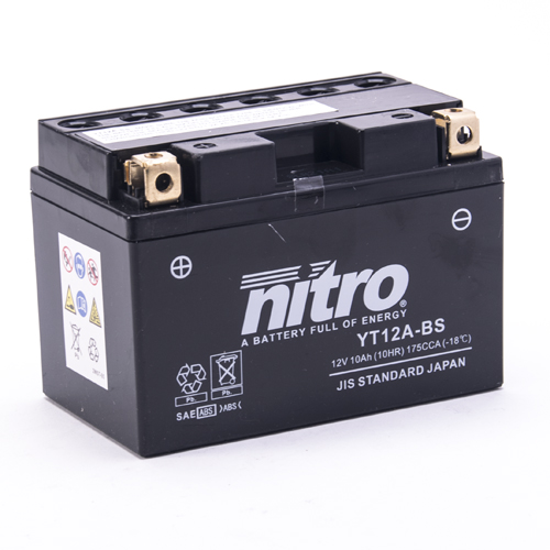 NITRO BATTERIE MODELLO: NT12A-BS