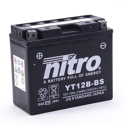 NITRO BATTERIE MODELLO: NT12B-BS