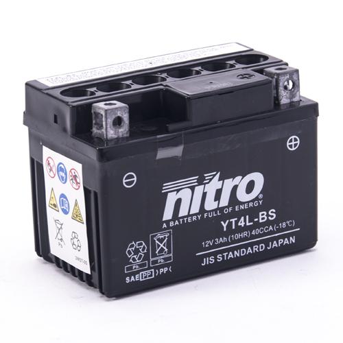NITRO BATTERIE MODELLO: NT4L-BS