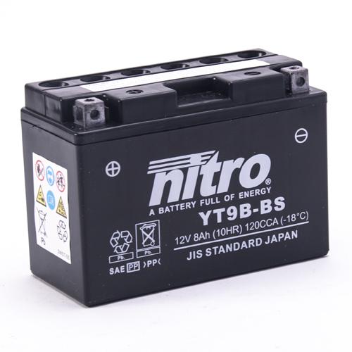 NITRO BATTERIE MODELLO: NT9B-BS