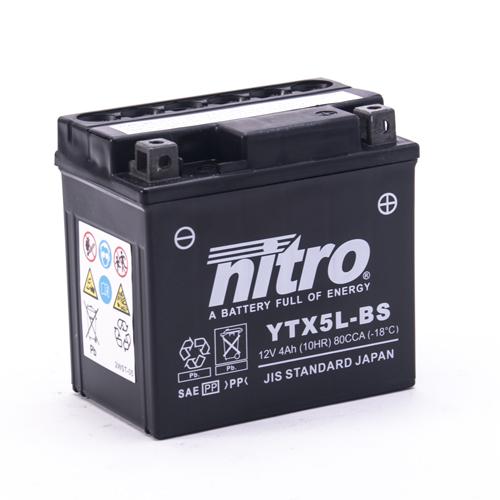 NITRO BATTERIE MODELLO: NTX5L-BS