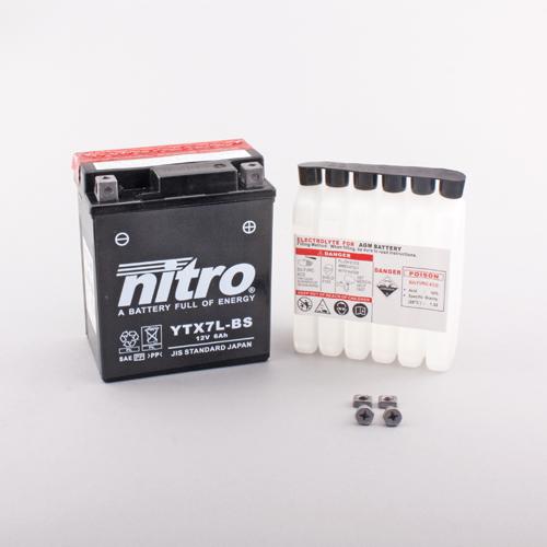 NITRO BATTERIE MODELLO: YTX7L-BS-N