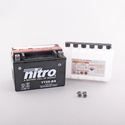 NITRO BATTERIE MODELLO: YTX9-BS-N