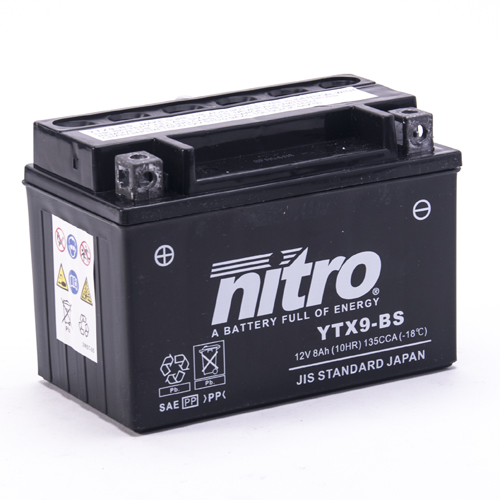 NITRO BATTERIE MODELLO: NTX9-BS