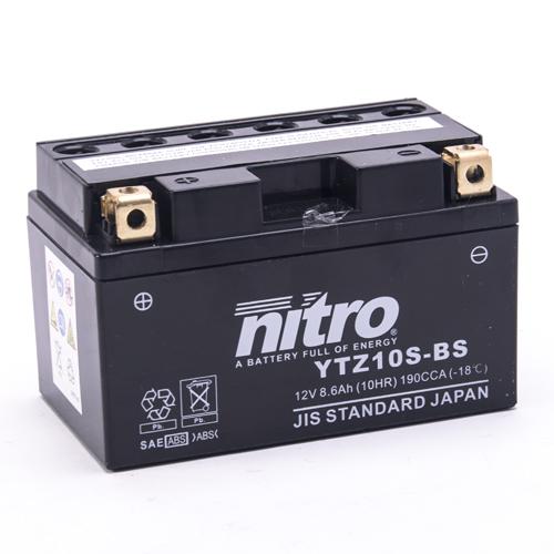 NITRO BATTERIE MODELLO: NTZ10S-BS