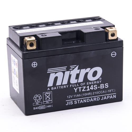 NITRO BATTERIE MODELLO: NTZ14S-BS