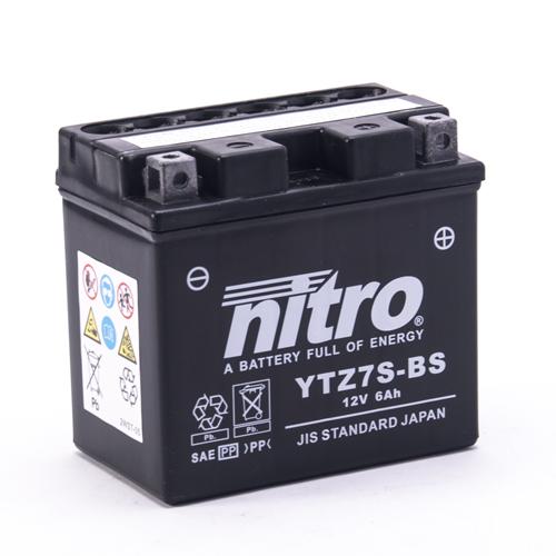 NITRO BATTERIE MODELLO: NTZ7S-BS