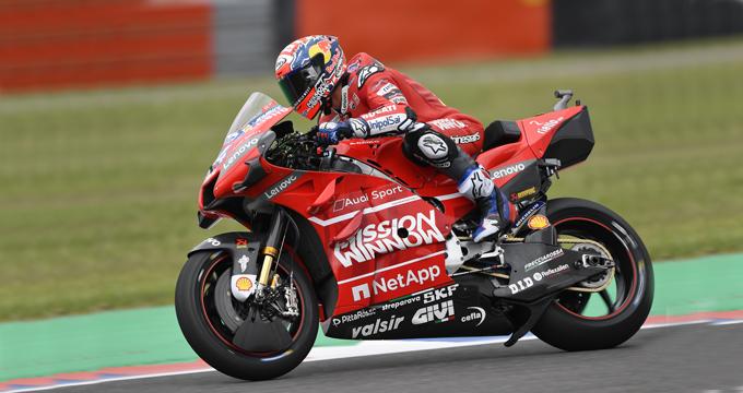 Il leader della MotoGP Andrea Dovizioso parla del suo rapporto con Brembo e con la frenata.