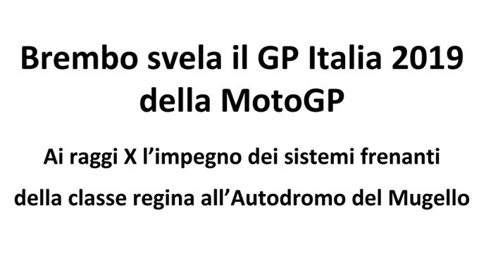 Microsoft Word - Brembo svela il GP Italia 2019 della MotoGP- AG