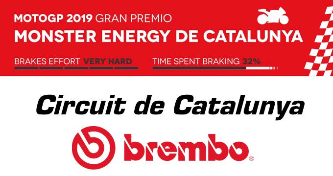 Brembo mette ai raggi X i sistemi frenanti della classe regina sul circuito di Barcellona.