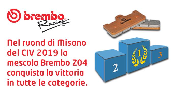 Brembo Z04 vince tutto a Misano!