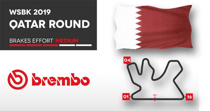 Vuoi sapere di più sulla tappa WSBK in Qatar? Leggi dati e telemetrie Brembo.