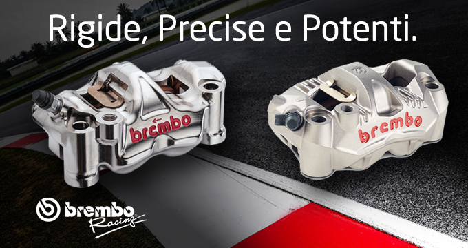 Pinze Brembo: Pure Racing!