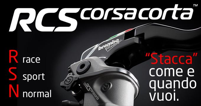 Brembo RCS Corsacorta: scopri il MotoGP feeling!
