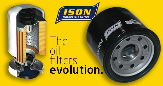 Per la tua moto scegli i filtri olio ISON: assicurati elevate performance di flussaggio, filtrazione e durata.