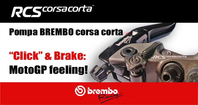 Brembo RCS Corsacorta: feeling da MotoGP!