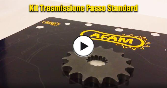 Kit Passo Standard AFAM: soluzione ideale per lunghe percorrenze con prestazioni superiori all'originale.