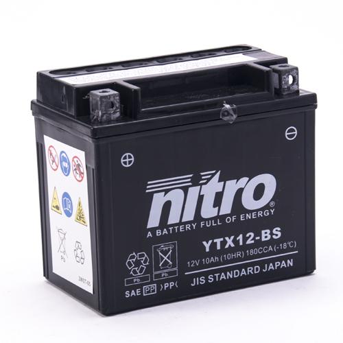 NITRO BATTERIE MODELLO: NTX12-BS