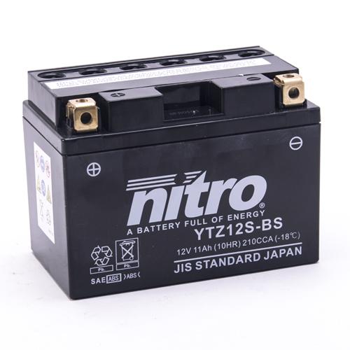NITRO BATTERIE MODELLO: NTZ12S-BS