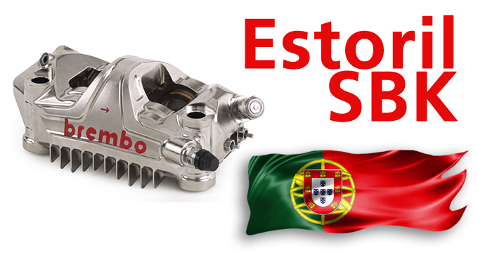Da 305 km/h a 74 km/h all'Estoril. I dati Brembo Superbike.